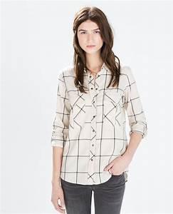 les 25 meilleures idees de la categorie chemise carreaux With zara femme chemise a carreaux