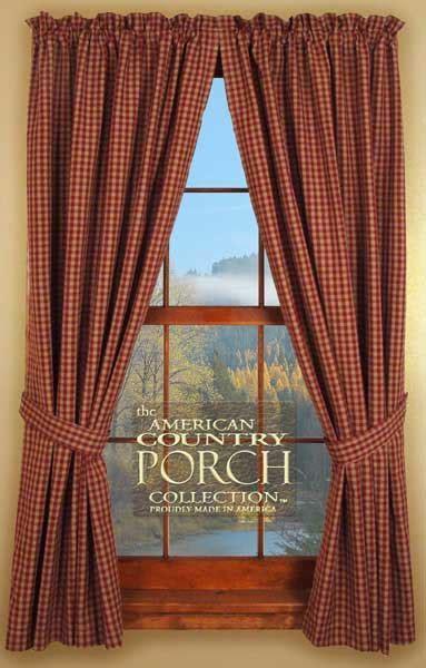 Brookfield Tieback Curtain Panels