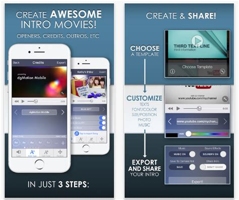 intro designer lite best free intro maker apps for iphone and android