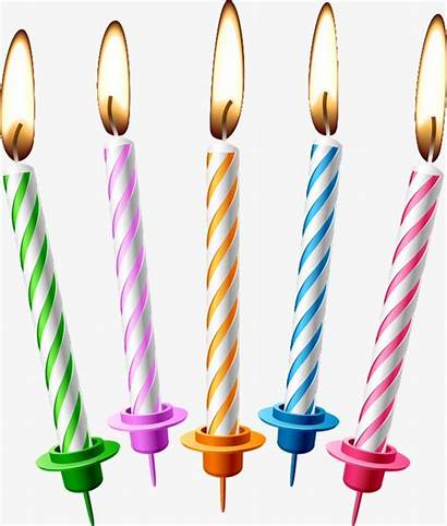 Candles Birthday Clipart Candle Transparent Background Cake