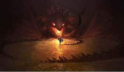 Dragon Knight Fire Wallpapers Fantasy Artwork Artist