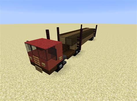 minecraft pickup truck detail timber transporter minecraft minecraft