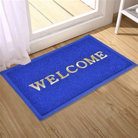 Buy Supreme Home Collective PVC Welcome Door Mat For Flat