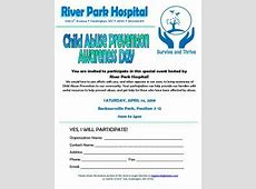Event Child Abuse Prevention Awareness day April 14