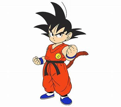 Goku Draw Easy Drawing Dragon Clipart Young