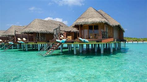 overwater bungalows  families