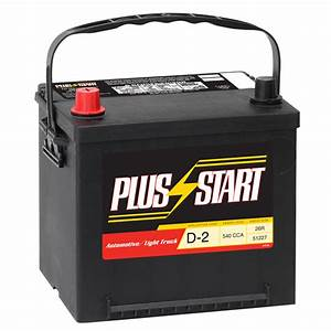Plus Start Automotive Battery