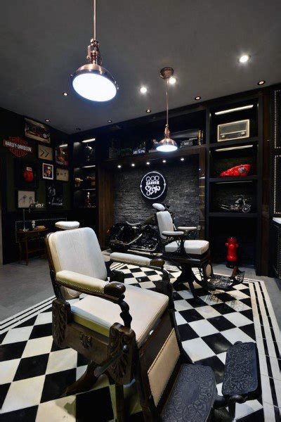 top   barber shop design ideas manly interior decor