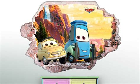 muurstickers van disneys cars groupon goods