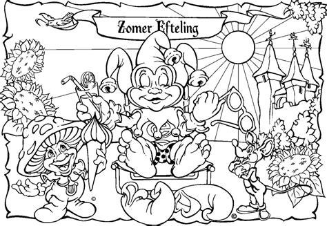 Doornroosje Kleurplaat Efteling by Efteling Kleurplaten 187 Animaatjes Nl