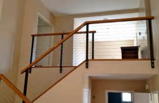 cathedral ceiling kitchen lighting ideas black railing posts with stainless cable modern other