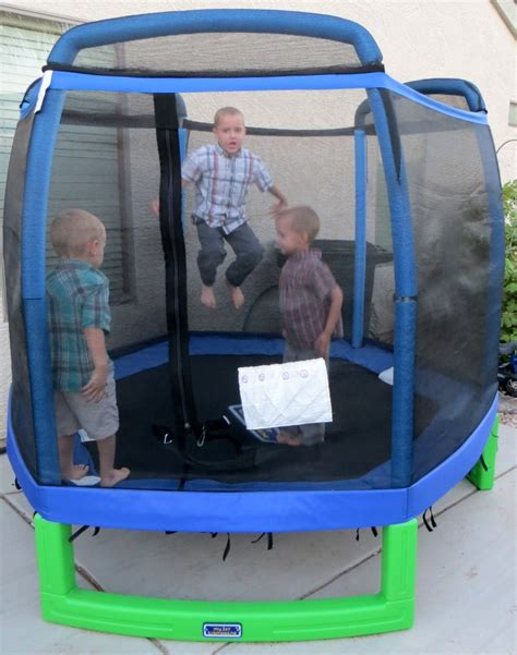 trampoline review  moms