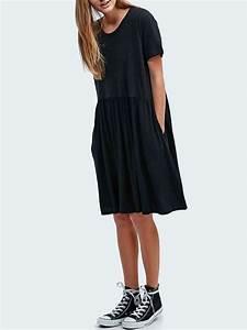 robe noire ample la mode des robes de france With robe noire ample