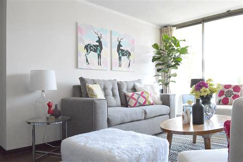 L'officina Home Interiors : Decoración De Living Y Comedor Estilo Glam Nórdico