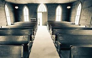 Old Church Pews Are A Sign Of Tradition