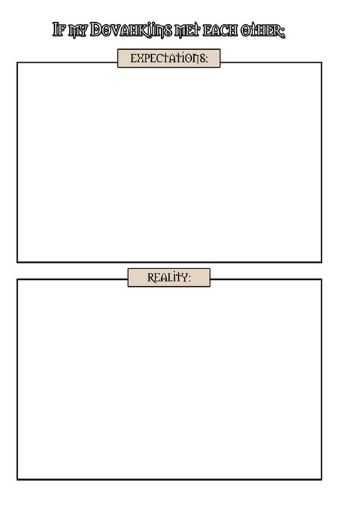 Memes Templates - if my dovahkiins met meme template by isriana on deviantart