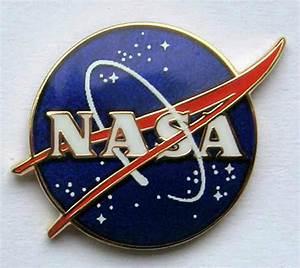 NASA Vector Logo Pin Official NASA Space Program Edition ...