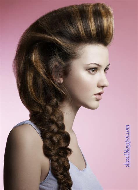 some new hair style she sol new ponytail hairstyles for 2013
