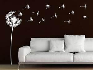 Bedeutung Schmetterling In Der Wohnung : wandtattoo pusteblume mit wegfliegenden samen ~ Watch28wear.com Haus und Dekorationen