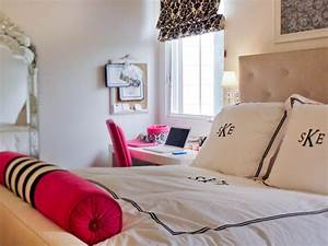 glamorous teen girl39s room hgtv With images of teenage girls bedrooms