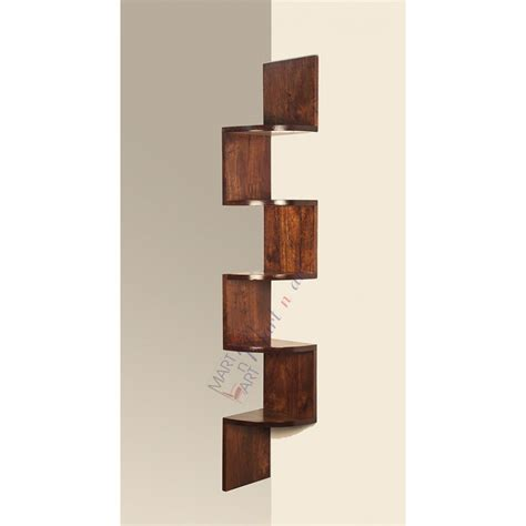 corner wood shelf corner shelf unit for small rooms home decorations