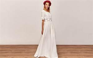 robe de mariee boheme manche longue With robe longue dentelle boheme