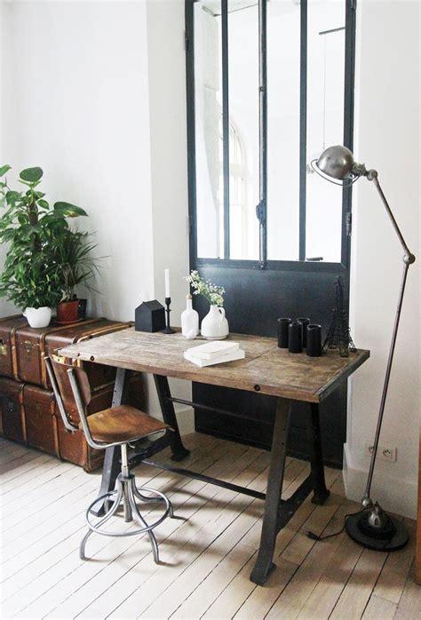 le bureau industrielle comment donner du style à votre bureau floriane lemarié