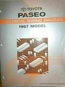 1997 Toyota Paseo Electrical Wiring Diagram Service Manual