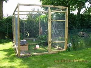 Fabrication D Une Voliere Exterieur : construction de mon poulailler ~ Premium-room.com Idées de Décoration