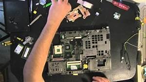 Lenovo T400 Laptop Take Apart Video  How To Open