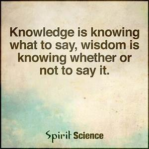 Spirit Science ... Wise Science Quotes