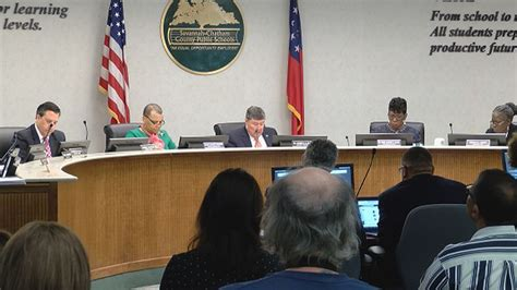 Sccpss Board Discussing Hub Transportation Proposal