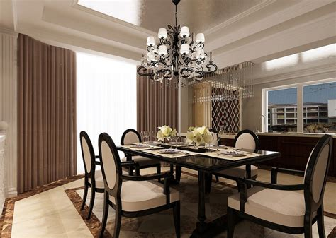 dining room ceiling ls pin lobby design rendering chinese style 3d house free on