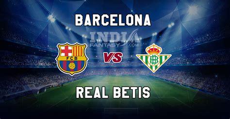 BAR vs RB Dream11 Prediction   La Liga   Barcelona vs Real ...