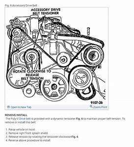 Step By Step Serpentine Belt Installation Instructions Needed