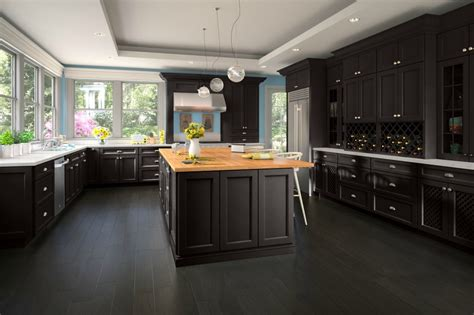 Www Kitchen Cabinets by Newport Espresso Ready To Assemble Kitchen Cabinets