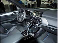 2017 BMW X3 xDrive30d interior