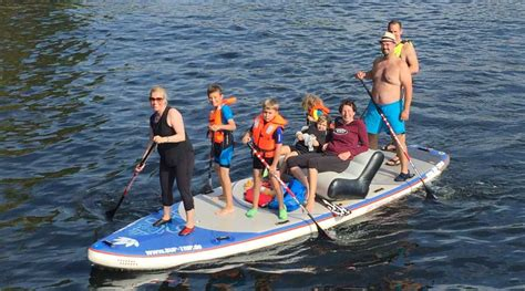 family  board   trip stand  paddling