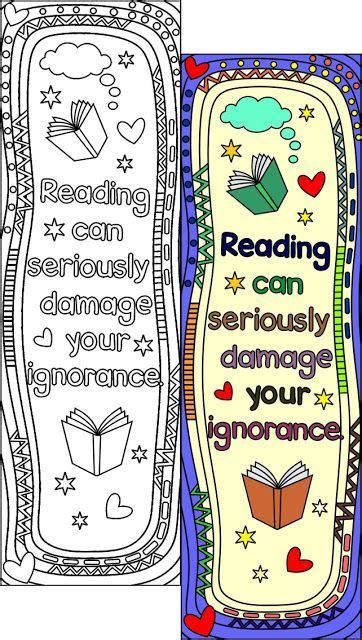 Bookmarkers Template by Bookmarkers Template Printable Coloring Bookmark Templates