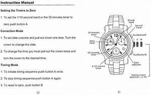 Renato Chronograph Instruction Manual  U2013 Keepthetime Watch Blog
