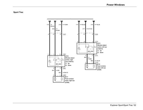 Sport Trac Wiring Diagram by 2002 Ford Sport Trac Accessory Wiring Diagram Free