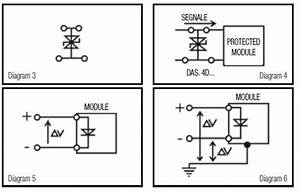 Terminal Blocks With Suppression Diodes