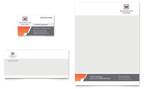 Company Stationery Template Pages by Letterhead Templates Indesign Illustrator Publisher