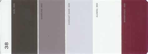 martha stewart paint 5 color palette card 38