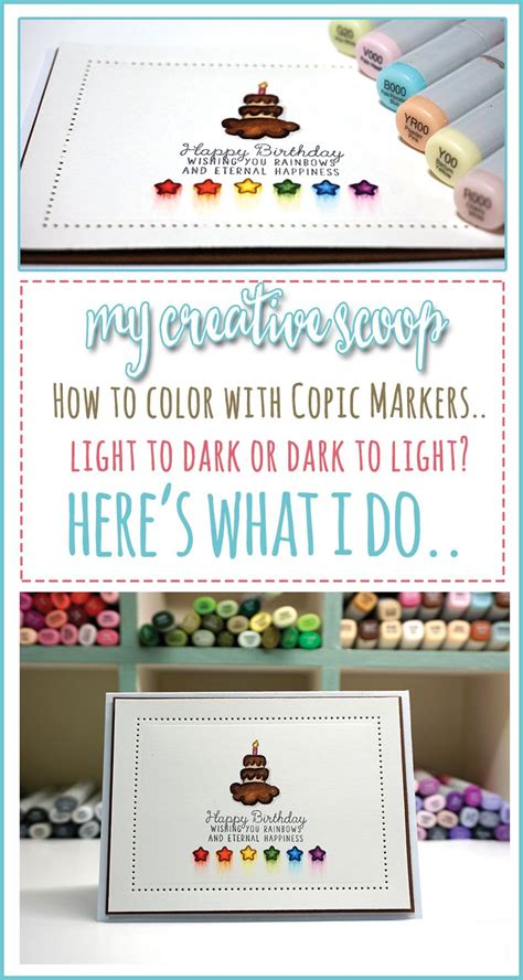 Coloring Using Copic Markers by Copic Markers Coloring To Light Or Light To