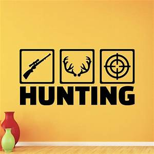 popular hunting wall decals buy cheap hunting wall decals With hunting wall decals