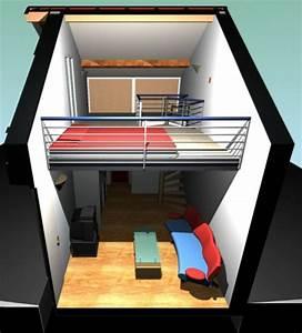 Aménagement D Un Garage En Studio : architectes am nagement int rieur d 39 un ~ Premium-room.com Idées de Décoration