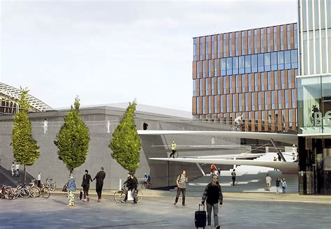 station leuven krijgt nieuwe elegante fietsspiraal tussen station en martelarenplein