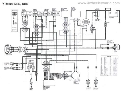 Wheeler World Tech Help Yamaha Wiring Diagrams