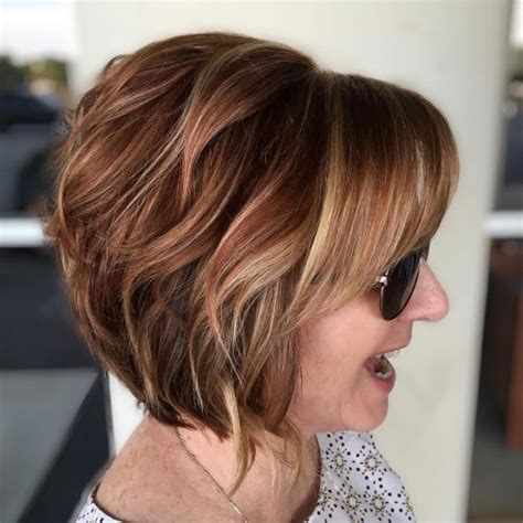 short stacked hairstyles with bangs 46 bob with bangs hairstyle ideas trending for 2019